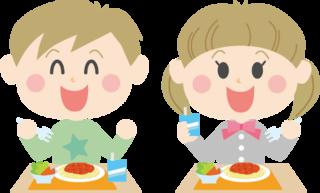 アルギニンを含む子供達の食事